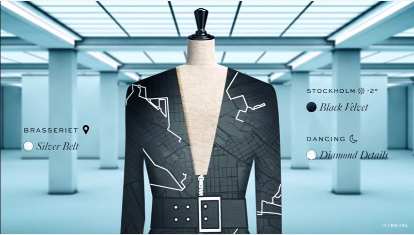 Coded Couture By Ivyrevel - Introducing the Data_Dress