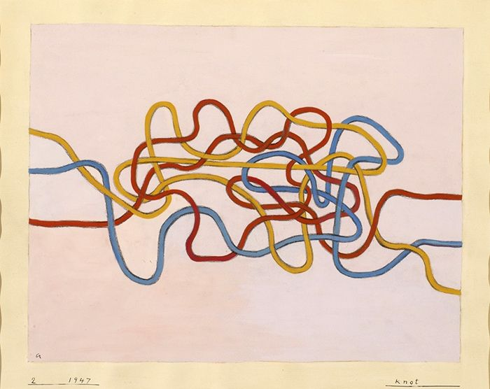 Anni Albers, Knot 2, 1947